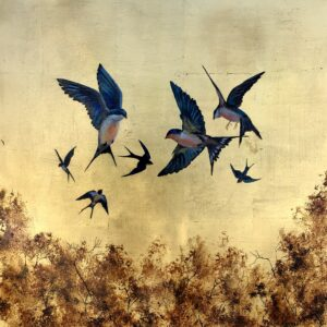 A Flight of Swallows